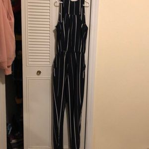 iris Other - Jumpsuit blue w/ white stripes